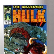 Cómics: INCREDIBLE HULK 341 - MARVEL 1988 FN+ / PETER DAVID & TODD MCFARLANE. Lote 194210081