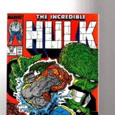 Cómics: INCREDIBLE HULK 342 - MARVEL 1988 VFN / PETER DAVID & TODD MCFARLANE. Lote 194210307