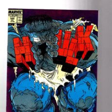 Cómics: INCREDIBLE HULK 345 - MARVEL 1988 VFN GIANT SIZE / PETER DAVID & TODD MCFARLANE. Lote 194211647