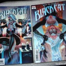Cómics: BLACK CAT, Nº1 + Nº2. Lote 194211823