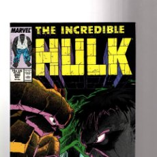 Cómics: INCREDIBLE HULK 350 - MARVEL 1988 VFN+ / PETER DAVID / MR FIXIT VS THE THING. Lote 194212117