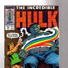 Cómics: INCREDIBLE HULK 355 - MARVEL 1989 VFN / PETER DAVID. Lote 194235246