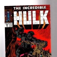 Cómics: INCREDIBLE HULK 357 - MARVEL 1989 VFN / PETER DAVID. Lote 194235473
