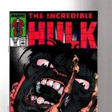 Cómics: INCREDIBLE HULK 358 - MARVEL 1989 VFN+ / PETER DAVID. Lote 194235622