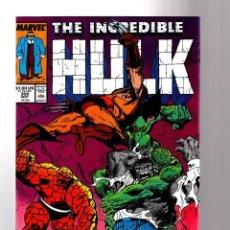 Cómics: INCREDIBLE HULK 359 - MARVEL 1989 VFN / PETER DAVID / BYRNE COVER. Lote 194235751