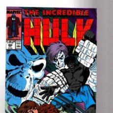 Cómics: INCREDIBLE HULK 360 - MARVEL 1989 VFN / PETER DAVID. Lote 194235936