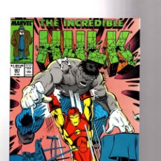 Cómics: INCREDIBLE HULK 361 - MARVEL 1989 VFN+ / PETER DAVID / MR FIXIT VS IRON MAN. Lote 194236088
