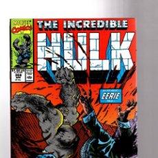 Cómics: INCREDIBLE HULK 368 - MARVEL 1990 VFN+ / PETER DAVID / SAM KIETH. Lote 194237246