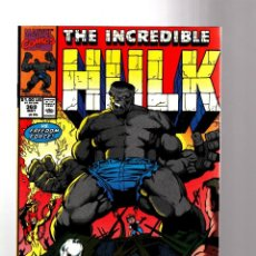 Cómics: INCREDIBLE HULK 369 - MARVEL 1990 VFN- / PETER DAVID & DALE KEOWN / VS FREEDOM FORCE. Lote 194237446