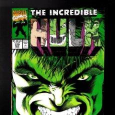 Cómics: INCREDIBLE HULK 379 - MARVEL 1991 VFN / PETER DAVID & DALE KEOWN / 1ST DELPHI, AJAX, ACHILLES.... Lote 194238907