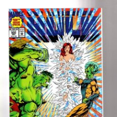 Cómics: INCREDIBLE HULK 400 - MARVEL 1992 VFN/NM / PETER DAVID / GIANT SIZE ANNIVERSARY FOIL COVER. Lote 194239807