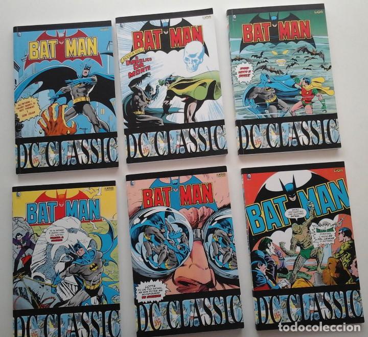 BATMAN CLASSIC VOLUMENES 10 AL 15. CON EL BATMAN DE LOS 80: GENE COLAN, DON NEWTON, ETC.ITALIANO (Tebeos y Comics - Comics Lengua Extranjera - Comics USA)