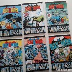 Cómics: BATMAN CLASSIC VOLUMENES 10 AL 15. CON EL BATMAN DE LOS 80: GENE COLAN, DON NEWTON, ETC.ITALIANO. Lote 194265047