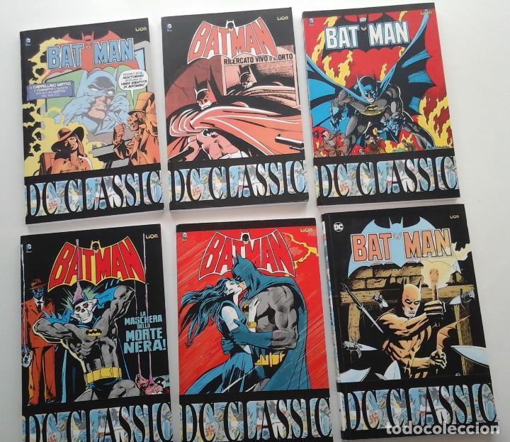 BATMAN CLASSIC VOLUMENES 20 AL 25. CON EL BATMAN DE LOS 80: GENE COLAN, DON NEWTON, ETC.ITALIANO (Tebeos y Comics - Comics Lengua Extranjera - Comics USA)