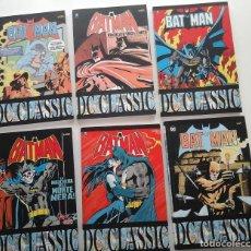 Cómics: BATMAN CLASSIC VOLUMENES 20 AL 25. CON EL BATMAN DE LOS 80: GENE COLAN, DON NEWTON, ETC.ITALIANO. Lote 194265792