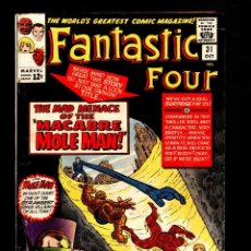 Cómics: FANTASTIC FOUR 31 - MARVEL 1964 VG - STAN LEE & JACK KIRBY. Lote 194329794