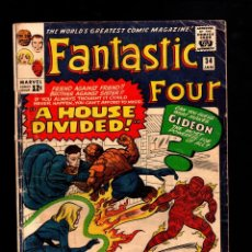 Cómics: FANTASTIC FOUR 34 - MARVEL 1965 G/VG / STAN LEE & JACK KIRBY / 1ST GIDEON. Lote 194330850