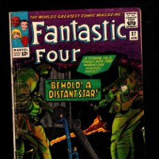 Cómics: FANTASTIC FOUR 37 - MARVEL 1965 VG / STAN LEE & JACK KIRBY / 1ST ANNELLE, MOTHER OF HULKLING. Lote 194331101