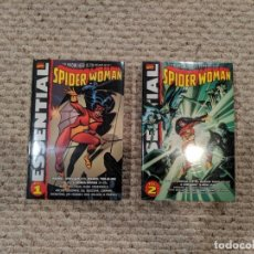 Cómics: MARVEL COMICS ESSENTIAL SPIDER-WOMAN VOLUME 1 + 2 .COMPLETE SERIES.. Lote 194391940