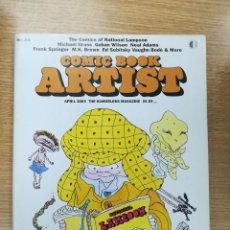 Cómics: COMIC BOOK ARTIST #24. Lote 194525733
