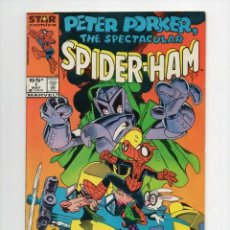 Cómics: PETER PORKER THE SPECTACULAR SPIDER-HAM #1 . MARVEL COMICS.. Lote 194756722