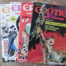Cómics: THE EROTIC WORLD OF FRANK THORNE LOTE DE 4 EJEMPLARES: 3,4 5 Y 6. Lote 194764888