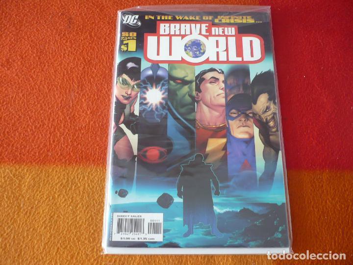 BRAVE NEW WORLD Nº 1 ( EN INGLES ) ¡BUEN ESTADO! DC USA WAKE OF INFINITE CRISIS (Tebeos y Comics - Comics Lengua Extranjera - Comics USA)