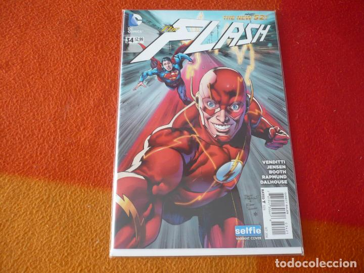 FLASH Nº 34 THE NEW 52 ( VENDITTI JENSEN ) ( EN INGLES ) ¡MUY BUEN ESTADO! DC USA 2014 (Tebeos y Comics - Comics Lengua Extranjera - Comics USA)