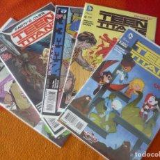 Cómics: TEEN TITANS NºS 2, 3, 5, 6 Y 7 ( PFEIFER ) ( EN INGLES ) ¡MUY BUEN ESTADO! DC USA 2015. Lote 194865141