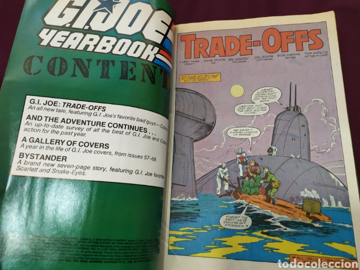 Cómics: G.I.JOE YEARBOOK - MARVEL. Vol 1 ,4 - Foto 4 - 194877340