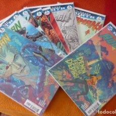 Cómics: AQUAMAN NºS 1, 2, 3, 4, 5, 6, 7 Y 9 DC REBIRTH ( ABNETT ) ( EN INGLES ) ¡MUY BUEN ESTADO! USA 2016. Lote 194912576