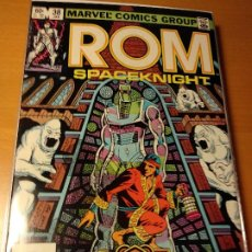 Cómics: COMIC USA-ROM #38-MARVEL 1983 -SAL BUSCEMA- VFN-BOLSA Y BACKBOARD. Lote 194934233
