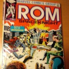 Cómics: COMIC USA-ROM #31-MARVEL 1984-SAL BUSCEMA- VFN-BOLSA Y BACKBOARD. Lote 194935157