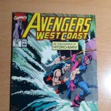 Comics : AVENGERS WEST COAST. MARVEL Nº 59 1990. Lote 193363513