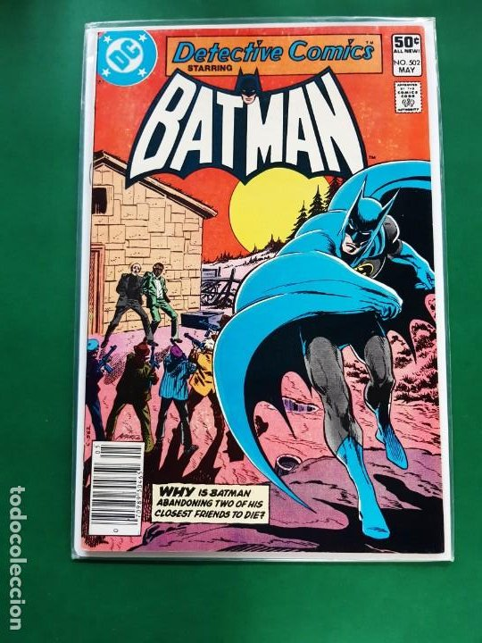 BATMAN Nº 502 DC 1981 IMPECABLE ESTADO VER FOTOS INGLES (Tebeos y Comics - Comics Lengua Extranjera - Comics USA)