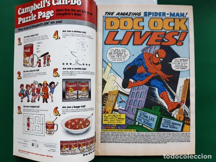 Cómics: CLASSIC SPIDERMAN Nº 224 DC 1989 INGLES IMPECABLE ESTADO VER FOTOS - Foto 2 - 194949031