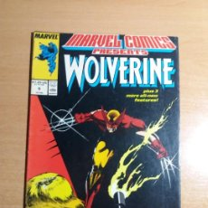 Cómics: MARVEL COMICS PRESENTS WOLVERINE Nº 9. 1988. Lote 193371121