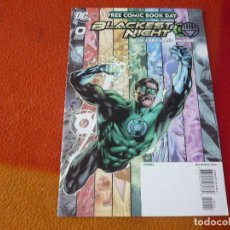 Cómics: BLACKEST NIGHT FREE COMIC BOOK DAY ( JOHNS ) (EN INGLES) ¡MUY BUEN ESTADO! DC USA 2009 GREEN LANTERN. Lote 194951587
