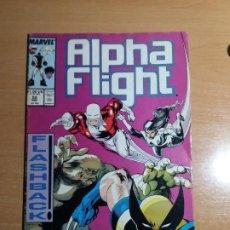 Comics : ALPHA FLIGHT Nº 52. 1987. MARVEL. Lote 193401672