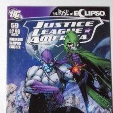 Cómics: JUSTICE LEAGUE OF AMERICA 2011, N 59. SAMPERE . Lote 194965082