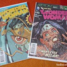 Cómics: WONDER WOMAN NºS 15 Y 16 THE NEW 52 ( AZZARELLO ) ( EN INGLES ) ¡MUY BUEN ESTADO! DC USA 2013. Lote 194986332