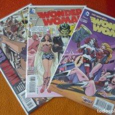 Cómics: WONDER WOMAN NºS 37, 38 Y 39 THE NEW 52 ( FINCH ) ( EN INGLES) ¡MUY BUEN ESTADO! DC USA 2015. Lote 194986573