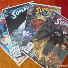 Comics : SUPERMAN NºS 32, 33, 34 Y 35 THE NEW 52 ( JOHNS ROMITA ) ( EN INGLES ) ¡MUY BUEN ESTADO! DC USA 2014. Lote 195065060