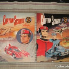 Cómics: CAPTAIN SCARLET AND THE MYSTERONS, 1993, SERIE COMPLETA DE 2 NÚMEROS, RAVETTE BOOKS, MUY BUEN ESTADO. Lote 195160721
