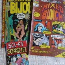 Cómics: LOTE 3 COMICS UNDERGROUND: BIJOU, MIXED BUNCH & SCI-FI SCRATCHEZ. Lote 195164446