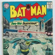 Cómics: BATMAN Nº 166 (1964). ORIGINAL DC. MUY BUEN ESTADO.. Lote 195196237