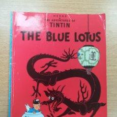 Cómics: THE ADVENTURES OF TINTIN THE BLUE LOTUS (EDICIONES DEL PRADO). Lote 195231635