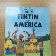 Cómics: THE ADVENTURES OF TINTIN TINTIN IN AMERICA (EDICIONES DEL PRADO). Lote 195231650