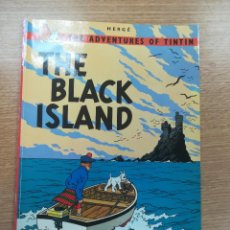 Cómics: THE ADVENTURES OF TINTIN THE BLACK ISLAND (MAGNET). Lote 195231652