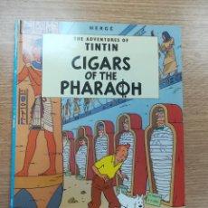 Cómics: THE ADVENTURES OF TINTIN CIGARS OF THE PHARAON (EDICIONES DEL PRADO). Lote 195231672